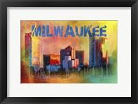 Framed Sending Love To Milwaukee