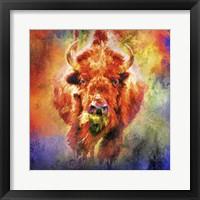 Framed Jazzy Buffalo