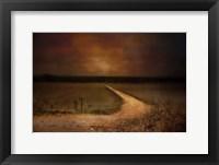 Framed Sunset Road