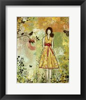 Framed little Birdie
