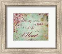 Framed Light in the heart