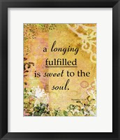 Framed Longing Fulfilled (whimsical theme)
