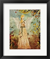 Framed Angel of Autumn