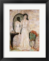 Framed Woman Within