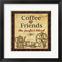 Framed Coffee and Friends