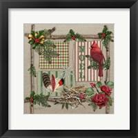 Country Christmas 1 Framed Print