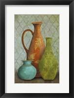 Framed Still Life Vases