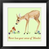 Framed Forest Friends - Deer