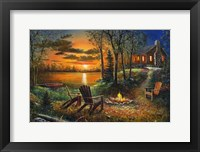 Framed Fireside