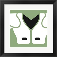 Framed Football Close-ups - Shoulder Pads