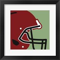 Framed Football Close-ups - Helmet