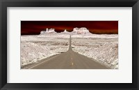 Framed Navajo Boulavard