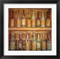 Framed Whiskey Row 1