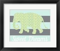 Framed Elephant Sweet Dreams