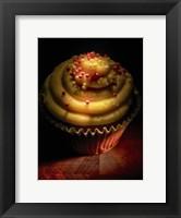 Framed Cupcake With Sprinkles