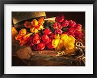 Framed Fresh Cut Tulips