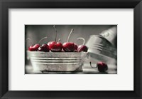 Framed Cherry Boats