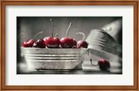 Framed Cherry Boats