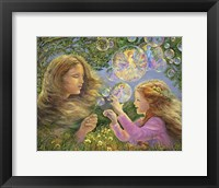 Framed Buttercups And Bubbles