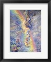 Framed Iris, Keeper Of The Rainbow