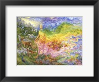 Framed Gladness Of Gaia
