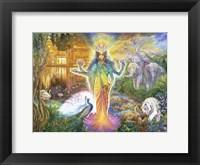Framed Lakshmi