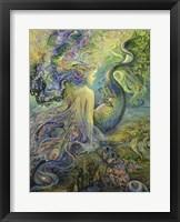Framed Mer Fairy