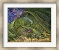 Framed Never Tickle A Sleeping Dragon