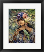 Framed Princess Of The Amazon