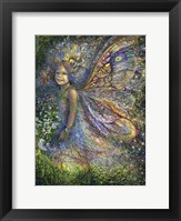Framed Wood Fairy