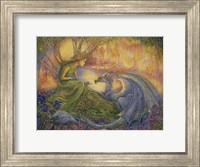 Framed Dryad and The Dragon
