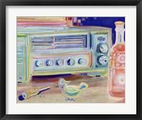 Framed Radio My Father Built