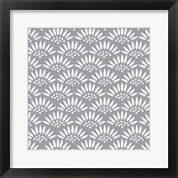 Framed Geo Petal Grey