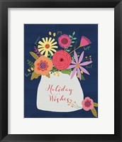 Framed Holiday Wishes