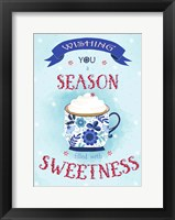 Framed Season filled with Sweetness