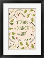 Framed Tidings of Comfor and Joy