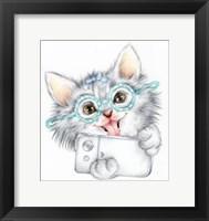 Framed Selfie Kitten