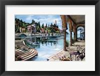 Framed L'Isola Bella