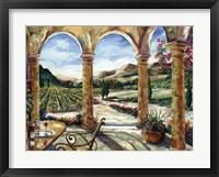 Framed Sedona Portico