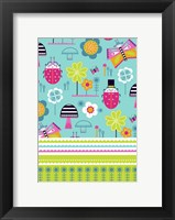 Framed Baby Apparel Pattern