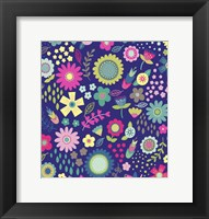 Framed Floral Pattern 2