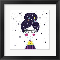 Framed Space Girl