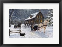 Framed Winter's Eve
