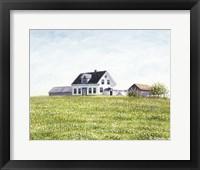 Framed Nova Scotia Farmhouse