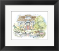 Framed Apple Tree Cottage