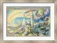 Framed Arrive By Dragon