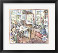 Framed Artist's Studio
