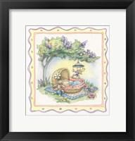 Framed Baby's Basket