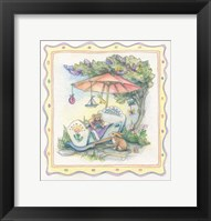 Framed Baby's Parasol