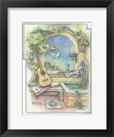 Framed Music Garden-Guitar